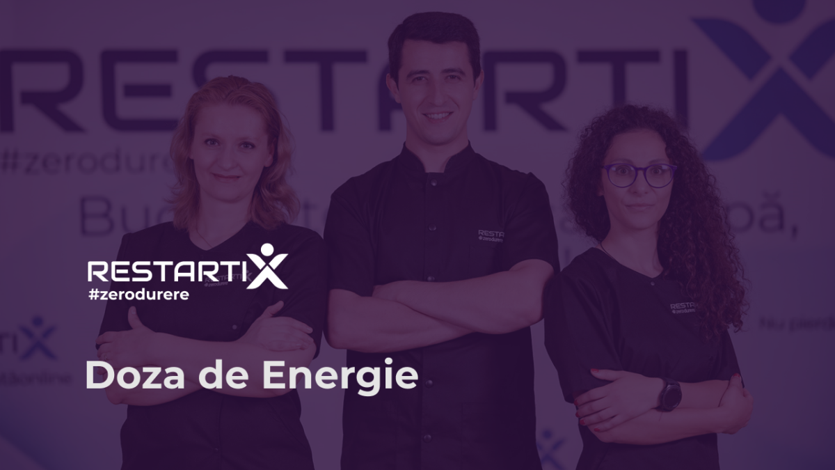 Ia-ți Doza de Energie RestartiX în fiecare dimineață!