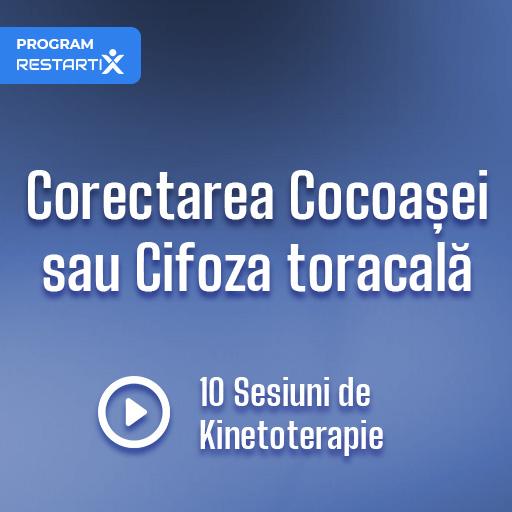 Corectarea Cocoașei sau Cifoza toracală